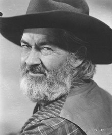 """Gabby Hayes on The Roy Rogers and Dale Evans Show. George Francis """"Gabby"""" Hayes (May 7, 1885 – February 9, 1969) was an American radio, film, and television actor. He was best known for his numerous appearances in Western movies as the colorful sidekick to the leading man."""