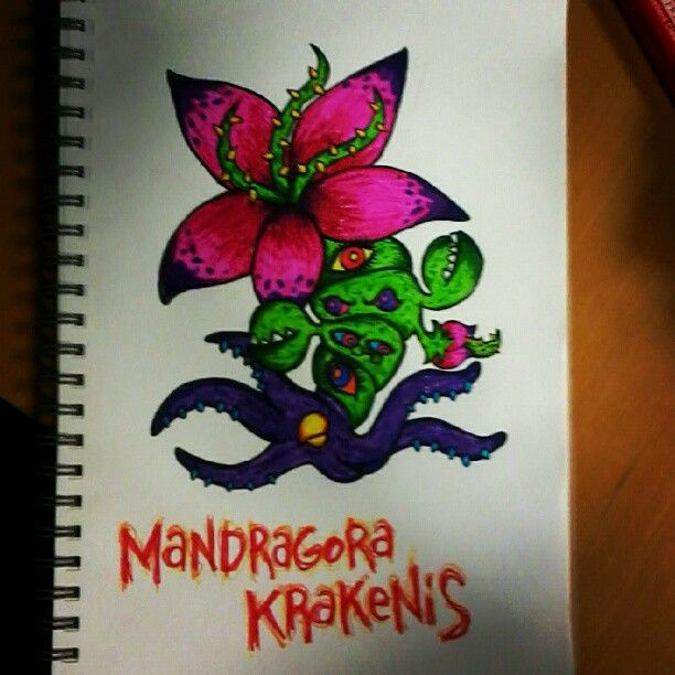 Monster Flower tattoo concept for Jackie