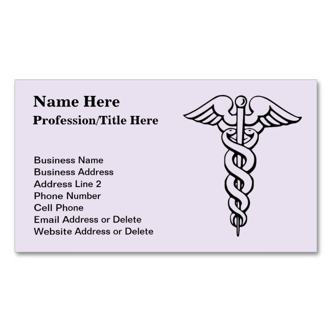 2183 best Medical Health Business Card Templates images on - name card format