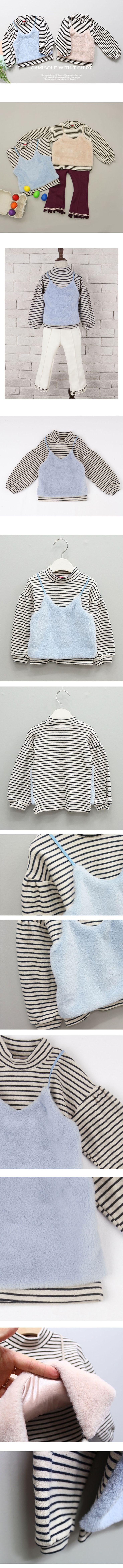 【楽天市場】フワフワボア—ファー キャミ付きTシャツ 韓国子供服Tシャツ オシャレなデザイン キャミソール付き キッズ用 こども服 女の子 90cm 100cm 110cm 120cm 130cm 140cm:Lapin bebe