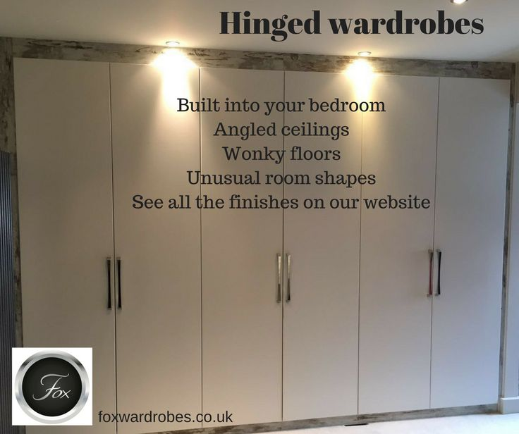 Hinged Wardrobes   We Have A Wide Range Of Colours And Finishes.