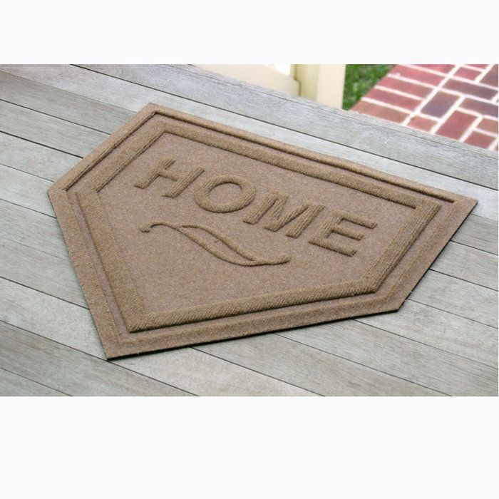 Home Plate door mat | Brookstone: Idea, Plates, Entry Doors, Doormat, Homes, Mat Entry, Plate Mat