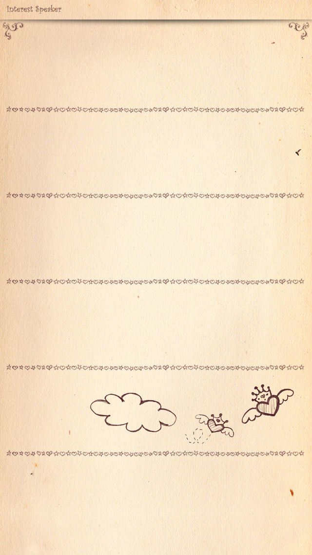 Simple sweet letter shelf wallpaper (Perfert for Homescreen!) - Free download from mobile9