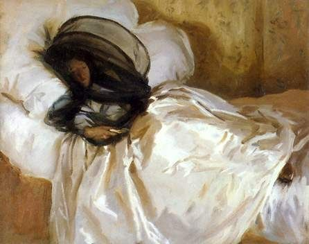 John Singer Sargent, The Mosquito Net