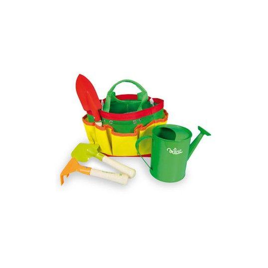 #Pratica, bella e colorata! una borsa con tutto l'occorrente per zappettare, innaffiare, rinvasare.  con questo set potrai occuparti di ogni pianta dall' #orto sul balcone, al #giardino di casa, alle piante del parco!
