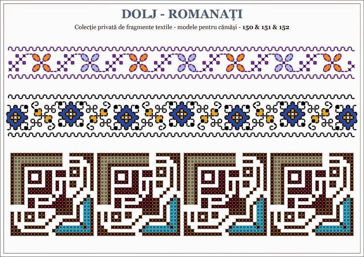 Semne Cusute: traditional Romanian motifs - OLTENIA : Dolj-Roman...
