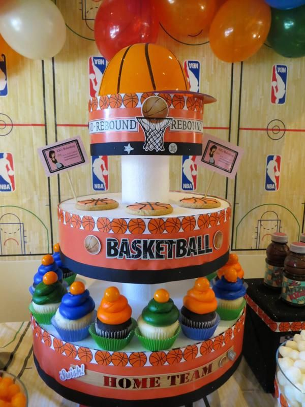 1000 Images About Basketball Themed Party On Pinterest
