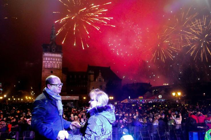 #Sylwester #NewYear #NowyRok @ #Gdansk, #ilovegdn #fireworks #lights #mayor