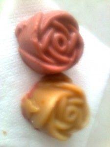 Rózsaszín agyagos rózsaszappan