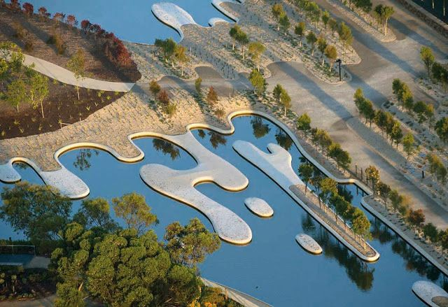 Incrível jardim australiano mescla natureza e arquitetura