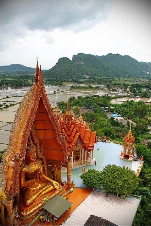 Tiger Cave Temple (Wat Tham Sua) ,Kanchanaburi, Thailand