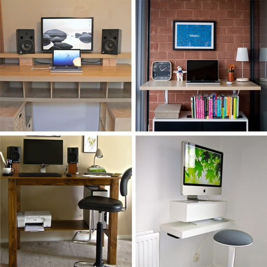 Wall desks