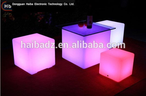 hatil furniture cube shisha charcoal Garden Lighting LED Furniture Light/LED cube/table