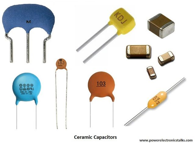 Types Of Capacitor In 2020 Capacitors Type Electronic Components