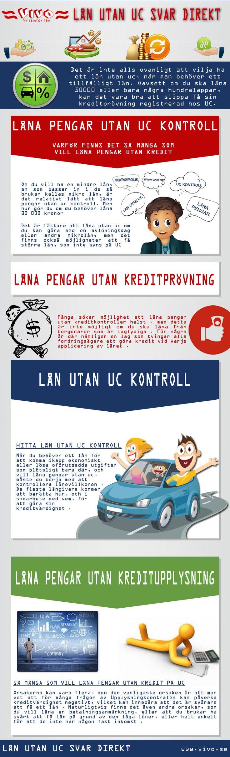 Att veta hur man korrekt låna 10000 utan uc kan vara skillnaden mellan på grund av pengar och upprörande låntagaren, och att kunna betala tillbaka lånet med lätthet. Låna pengar kan ibland visa sig vara användbart för dig. Kolla denna länk rätt här http://www.vivo.se/lan-utan-uc/ för mer information på låna pengar utan kreditprövning.