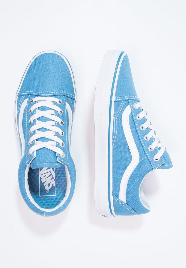 Chaussures Vans OLD SKOOL - Baskets basses - cendre blue/true white bleu clair: 56,00 € chez Zalando (au 15/04/17). Livraison et retours gratuits et service client gratuit au 0800 915 207.