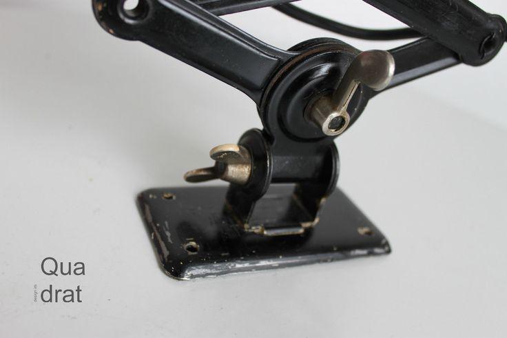 KAISER IDELL 6718 Scherenlampe schwarz Ch. DELL Design BAUHAUS | eBay