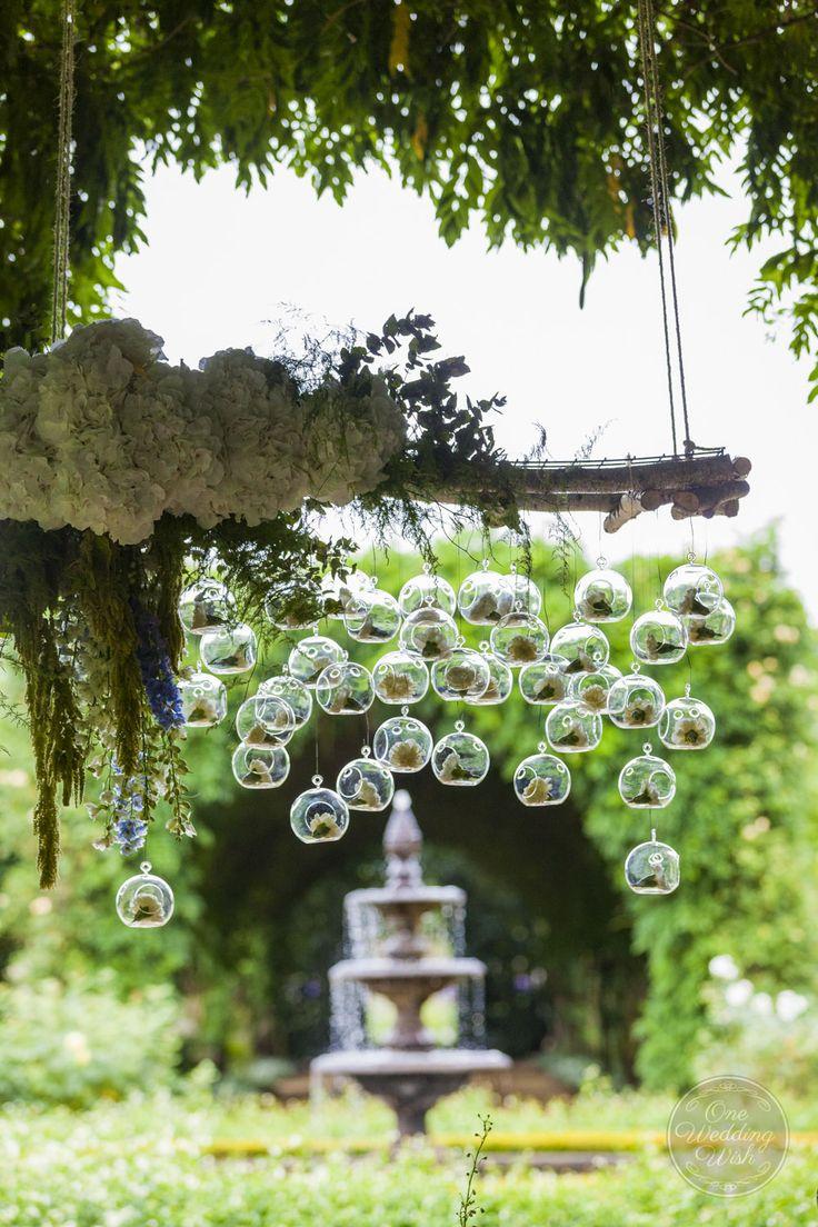 Ceremony floral instillation   Rustic garden themed wedding   Alowyn Gardens, Yarra Glen   Concepts & Styling by One Wedding Wish