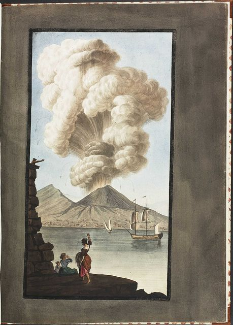 Plate 3, eruption of Mt. Vesuvius, 1779 August 9 (supplement) by peacay, via Flickr