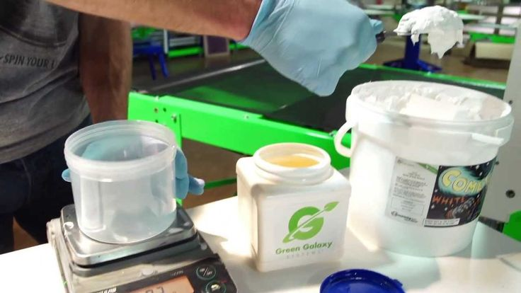 How to Screen Print Water Based Low Cure Ink on Polyester - YouTube
