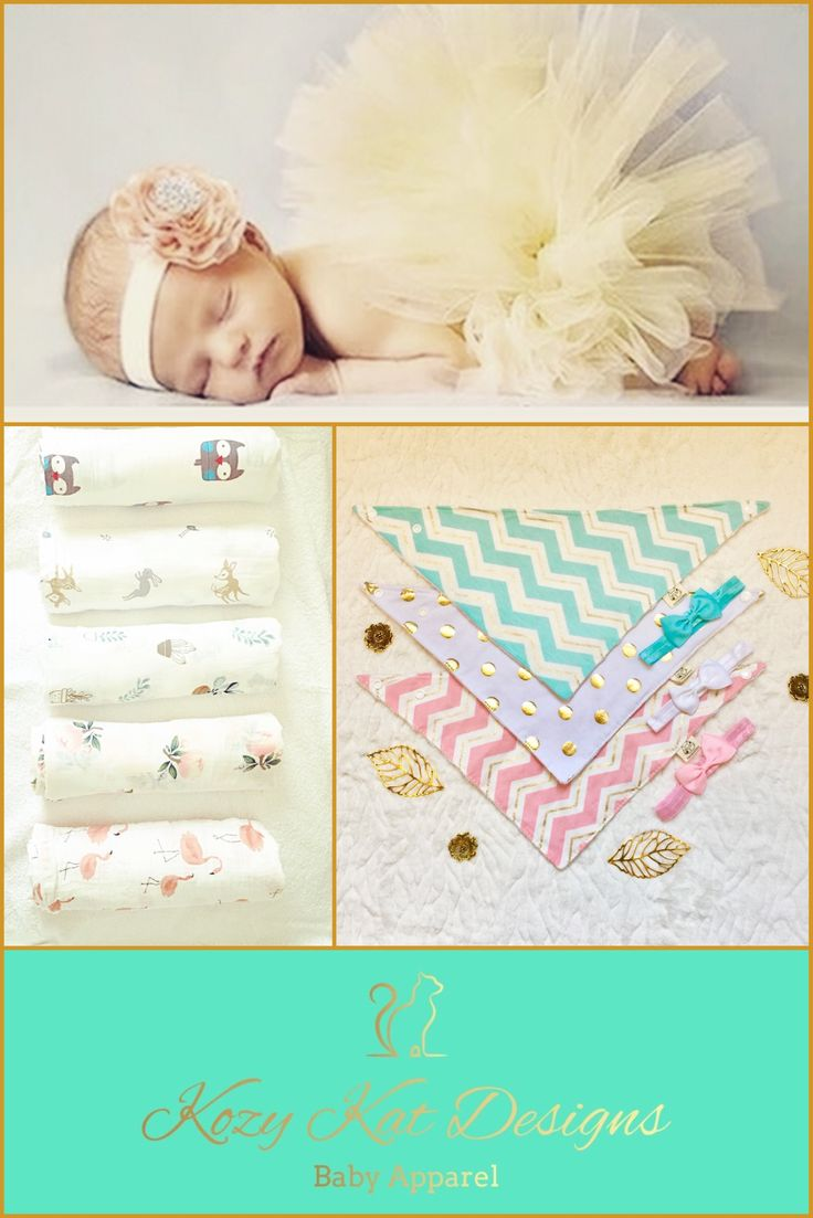 Get prepared for baby with these stylish and practical products from Kozy Kat Designs!