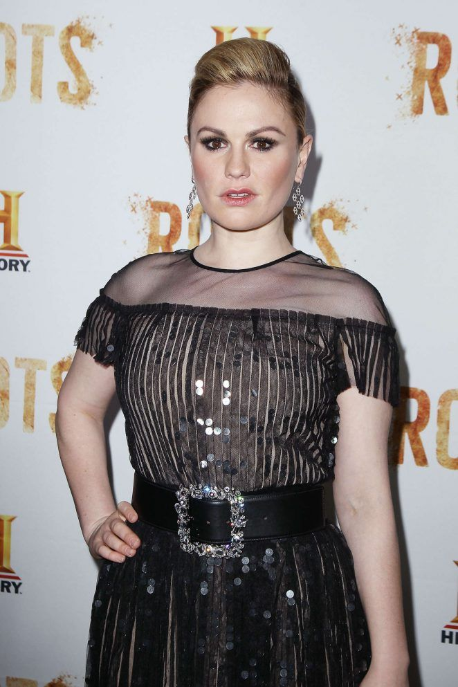 Anna Paquin - 'Roots' TV series Premiere in New York