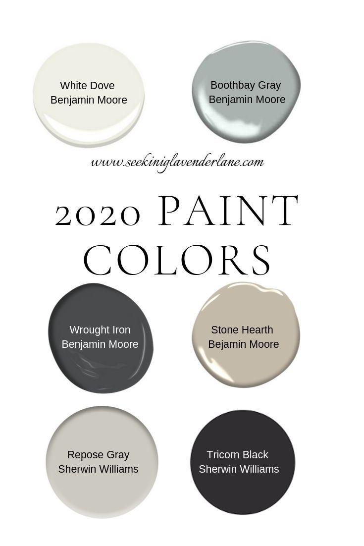 Paint Colors For A 2020 Home Seeking Lavender Lane Paint Colors For Home Bedroom Paint Colors Paint Colors