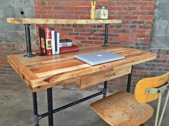 Pipe Desk with Riser