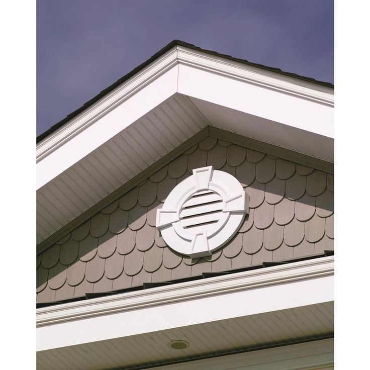 11 best gable vents images on pinterest house exteriors for Exterior keystone molding