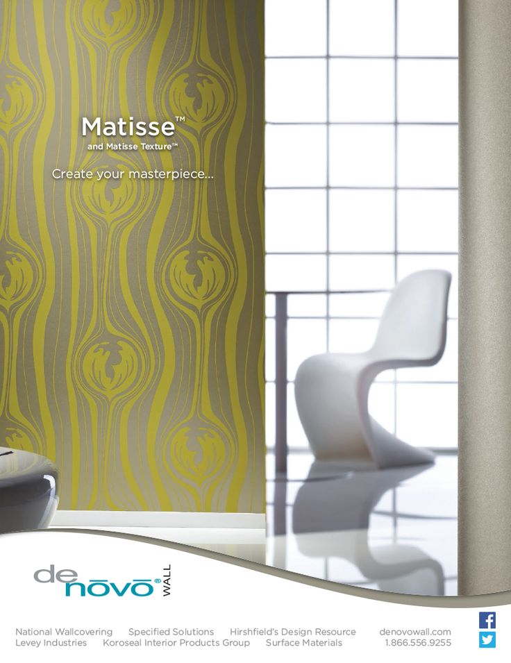 Graphic And For DeNovo Walls MatisseTM In The August 2014 Issue Of Interior Design Magazine Bcreative