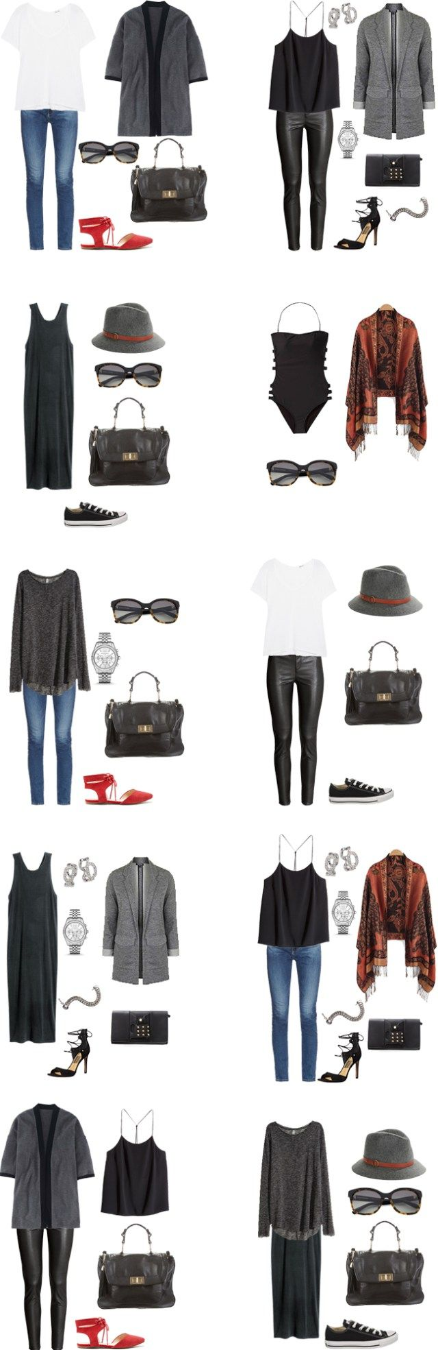 What to Wear in Las Vegas Outfit Options #travellight #packinglight #packinglist…