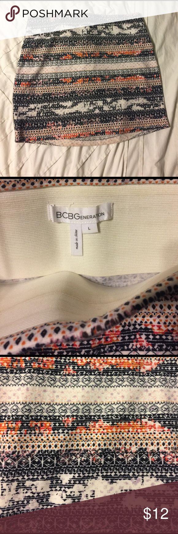 BCBG Generation Skirt Size L BCBGeneration Skirt. Barely worn. BCBGeneration Skirts Mini