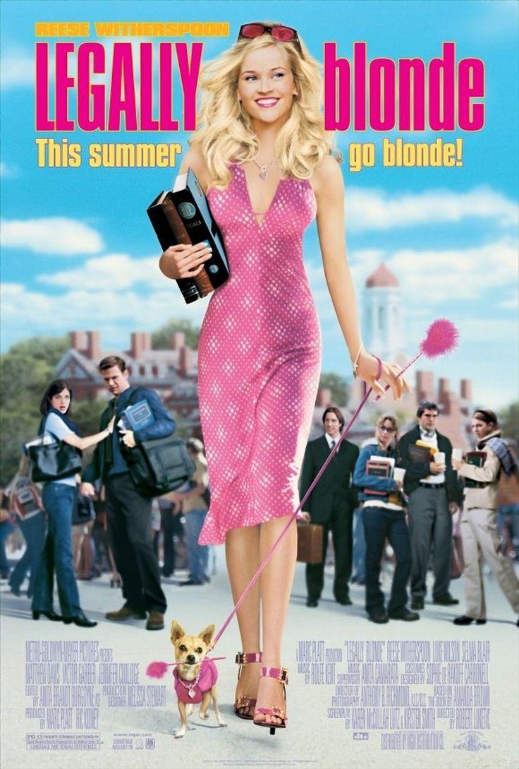 Legalmente Loira (Legally Blonde), 2001.