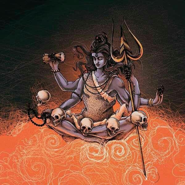 875 best shiva har har mahadev images on pinterest for Har har mahadev tattoo