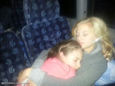 Kenzie and Paige 2013
