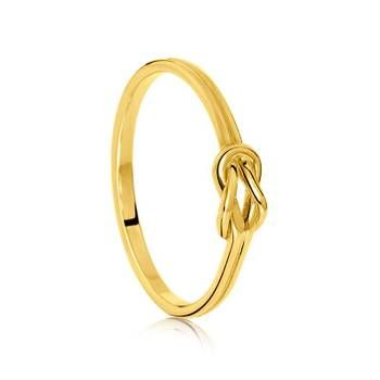 Cute & dainty infinity ring. We love this one!  #showcasejewellers #infinity #ring #gold 9ct Yellow Gold Ring  Showcase Jewellers