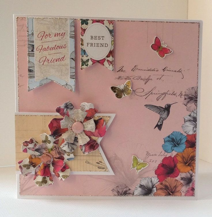 Card Making Paradise Part - 15: Card Designed By Julie Hickey Using Paradise Collection.