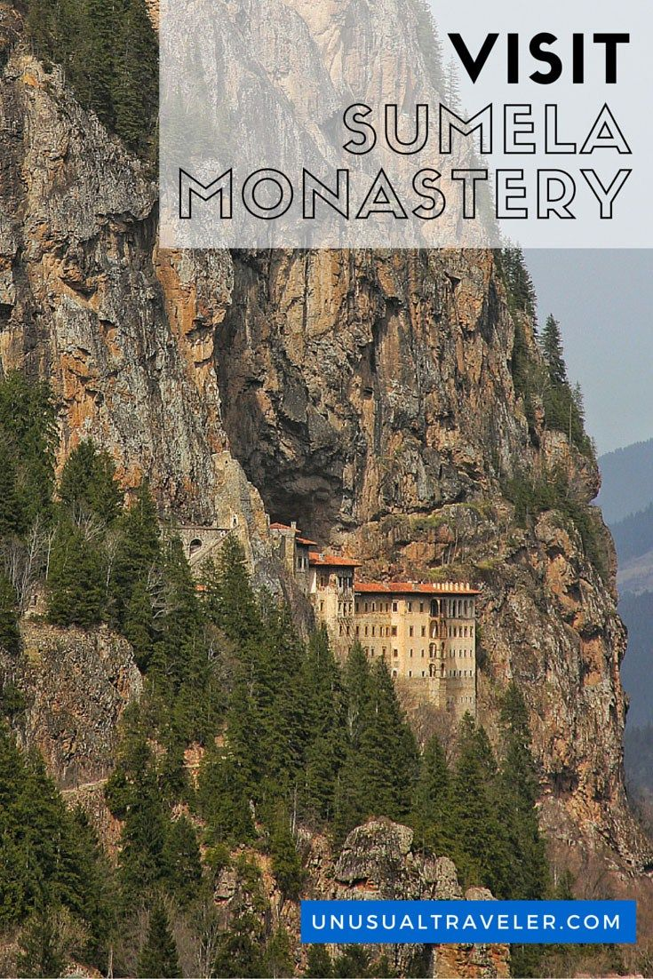 Sumela Monastery in far eastern Turkey is an old Greek Orthodox Monastery of the Virgin Mary, better known as Sumela Monastery it's about 50km south of Trabzon, is one of the historical highlights on the Black Sea coast of Turkey.