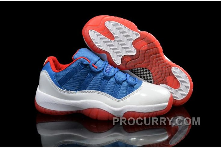 "https://www.procurry.com/air-jordans-11-low-knicks-white-blue-red-shoes-for-sale-cheap.html AIR JORDANS 11 LOW ""KNICKS"" WHITE BLUE RED SHOES FOR SALE CHEAP Only $93.00 , Free Shipping!"