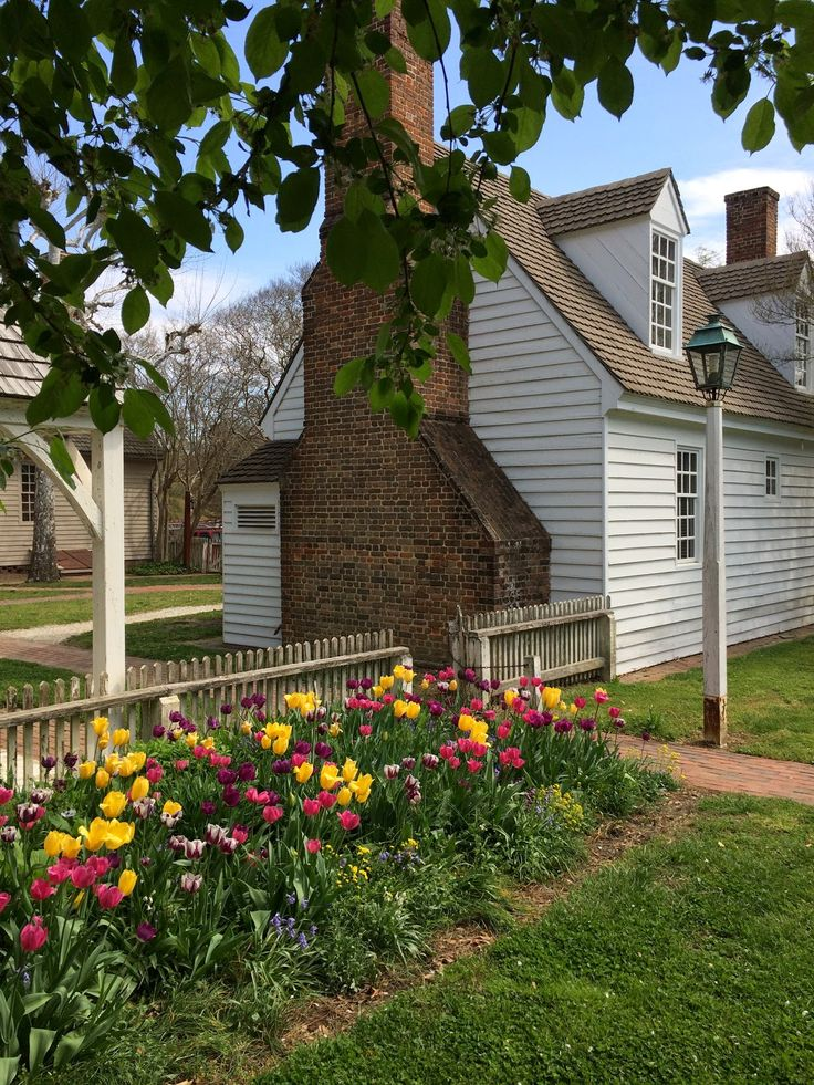 168 Best Colonial Williamsburg Gardens Images On Pinterest