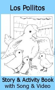 This traditional song in Spanish describes how a hen takes care of her chicks with some very useful vocabulary. Great for talking and singing about spring and new little creatures! http://www.spanishplayground.net/spanish-song-spring-los-pollitos/