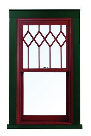 A-Series Double-Hung Windows with Exterior Trim