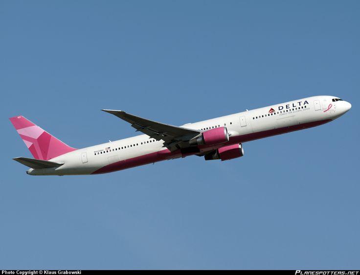 N845MH Delta Air Lines Boeing 767-432(ER)