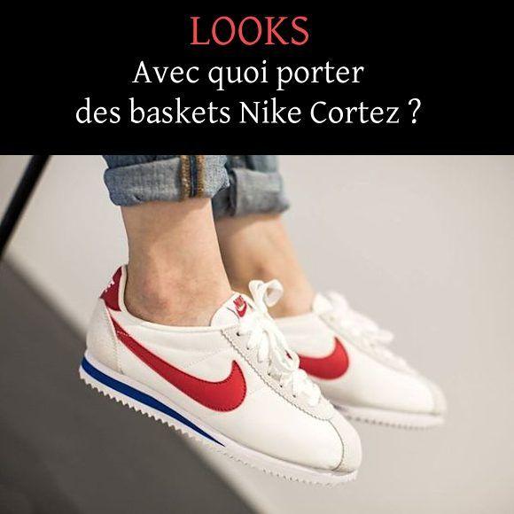 7 idées de looks avec des baskets Nike Cortez >> http://www.taaora ...