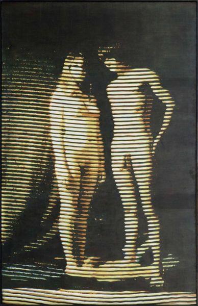Alain Jacquet,  Laure et Grégoire  (1969)