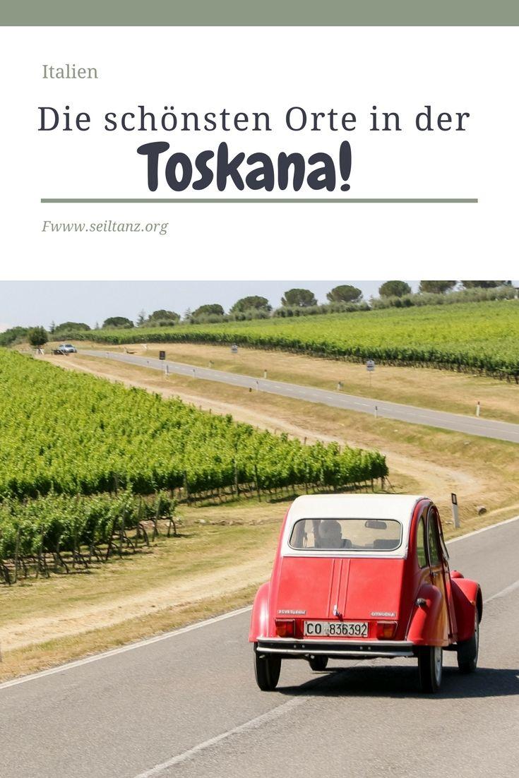 Toskana – die schönsten Landschaften und Dörfer – Seiltanz