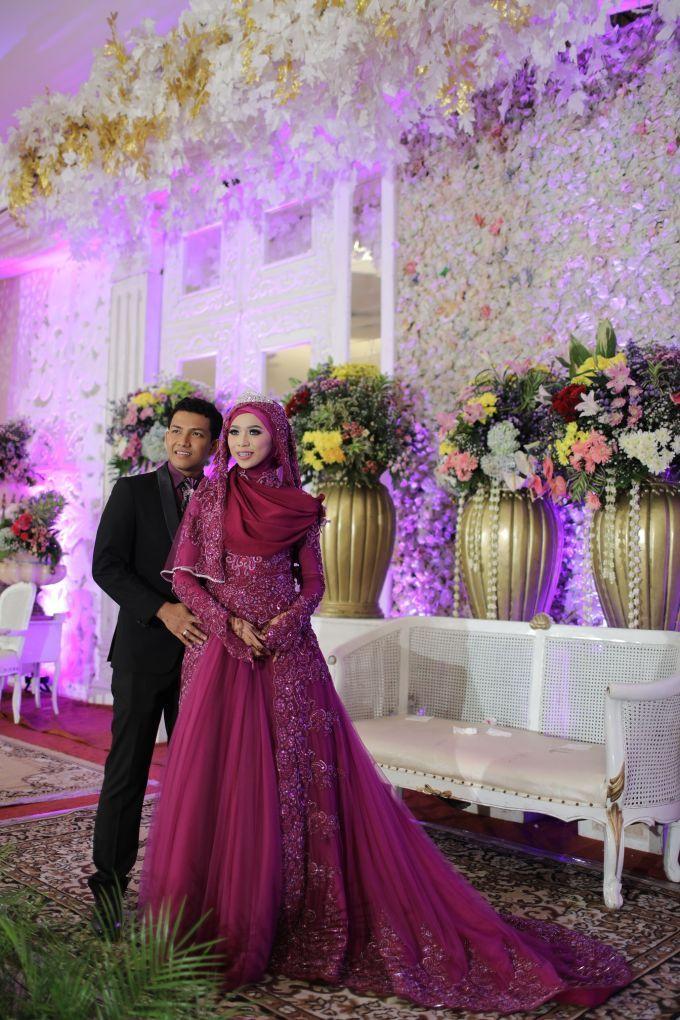 Nurayu & Husein by LAKSMI - Kebaya Muslimah & Islamic Wedding Service - 019