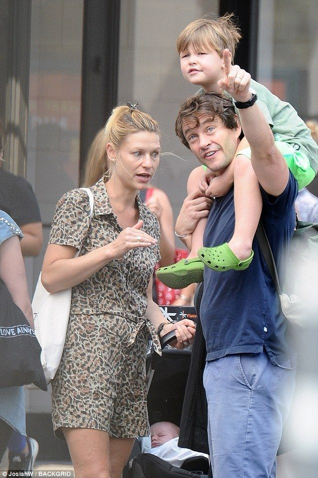 Claire Danes and husba...
