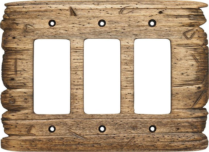 Old West switch plate (R3 shown in color Rustic Barn) .rusticwoodstudio. & 27 best Rustic Wood Switchplates images on Pinterest | Carved wood ...