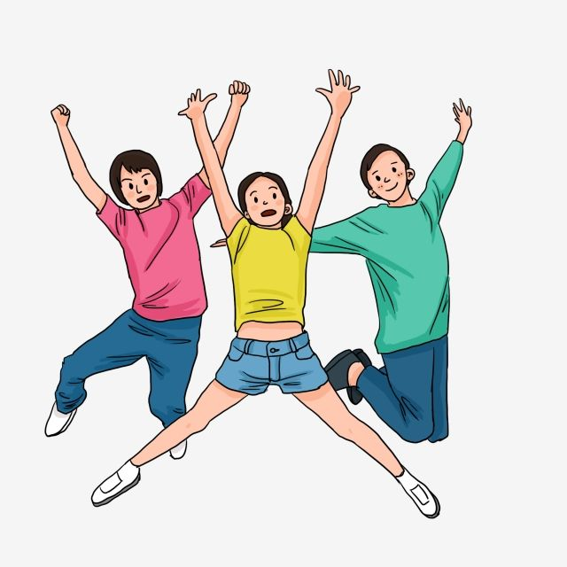 Primary School Student Cheering Happy Jumping Child National Day Cheers Illustration Student In Casual Wear Jumping Jumping Kids Happy Bear Child Png Transpa Primary School School Student Elementary School Students